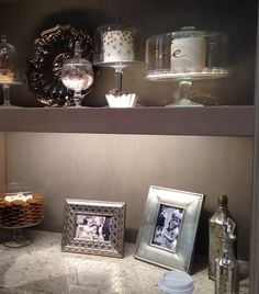 Great lit shelving from #MasterbrandCabinets