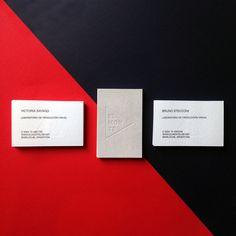 Tarjetaspersonales Tarjetas Letterpress Businesscards Cartes De Visite