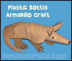 Armadillo Craft for Kids from www.daniellesplace.com