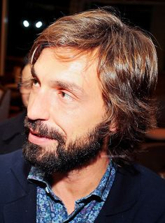 Andrea Pirlo. The suavest footballer on the planet.