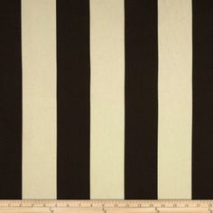 Premier Prints Vertical Stripe Chocolate/Natural Item Number: 0266213 Our Price: $7.48 per YD