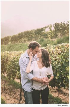 red apple tree photography: Heather + Abram Engagement at Victoria Valley Vineyards, SC