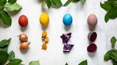 Cibulové slupky nevyhazujte! 10 nejlepších tipů, jak je využít Eggplant, Eggs, Easter, Vegetables, Spring, Chemistry, Turmeric, Easter Activities, Eggplants