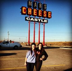 Feed your curiosity and visit the Mars Cheese Castle