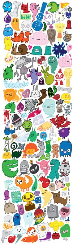 monsters to draw