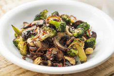 Broccoli and Mushroom Stir-Fry | Vegan Stir Fry Recipes