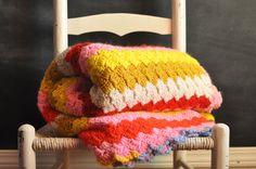 70's vintage blanket. great colour scheme!
