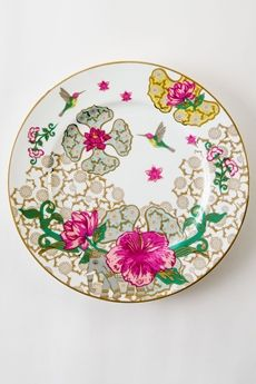 Serendib Charger Plate - White