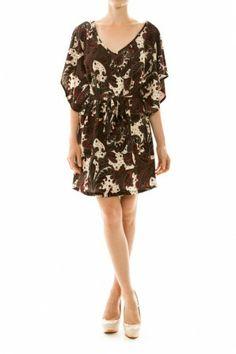 Paisley V-neck Knit Dress If you love dresses salediem has the look for Fall #salediem #fall#fashion. Shipping is FREE!