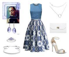 romantic date by supabebek on Polyvore featuring polyvore, fashion, style, Chicwish, René Caovilla, Boohoo, Ice, La Preciosa and clothing