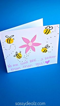 bee-mothers-day-card-craft