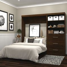 """Exceptional """"murphy bed ideas ikea queen size"""" information is offered on our internet site. Read more and you wont be sorry you did. Small Master Bedroom, Master Bedroom Makeover, Bedroom Sets, Bedding Sets, Single Bedroom, Murphy Bed Desk, Murphy Bed Plans, Cama Murphy Ikea, Murphy-bett Ikea"""