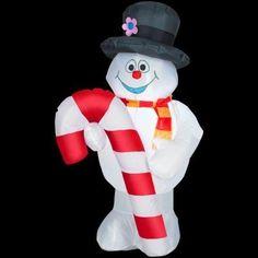 Love Gemmy snowman chubby inflatable prefer women