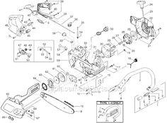 MCCULLOCH Mcculloch Chainsaw parts diagram in 2019