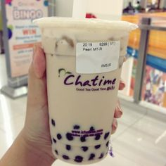 Chatime bubble tea from Midvalley