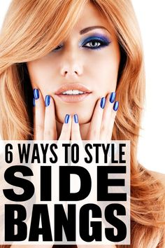 Whether you're a fan of side swept bangs, or you're in the transition period of growing out blunt bags and need ideas on how to keep your look fresh, these tutorials will teach you how to style side bangs properly. I have learned so much from these tutorials, and I am amazed at how versatile side bangs can be if you style them correctly. Also? They are the perfect compliment for fall fashion, and look great in winter as well!