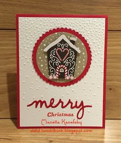 Fun With Ink: Week 35 & Stampin Up Class-Card 1