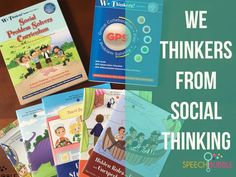 Have you ever tried We Thinkers Volume 2 Social Problem Solvers?  Here's your chance to find out what I thought of it before you dive in for yourself!  #thinkers #socialskills #development #speech #therapy #language #goals #curriculum #review #speechbubb