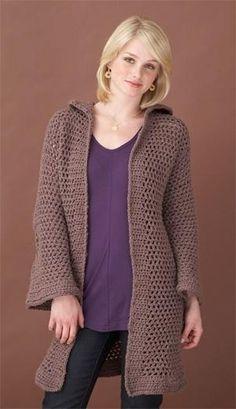 Free Pattern - Crochet Cardigan by Linda Walters
