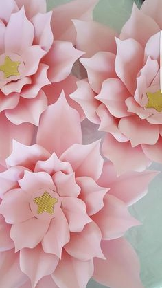 Paper Flower Template in PDF digital