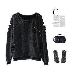 Tracksuit Sport Suit Duffle Moleton Feminino Punk Rock Sweatshirt thickness Women's Clothing 2015