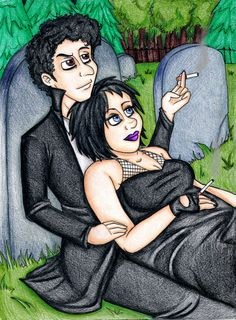 Tall Goth/Henrietta for CrazyEvilAngel by Freak-Egg