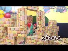 Cihličky pro dětičky, obří stavebnice, tip na dárek pro děti 3-8 let