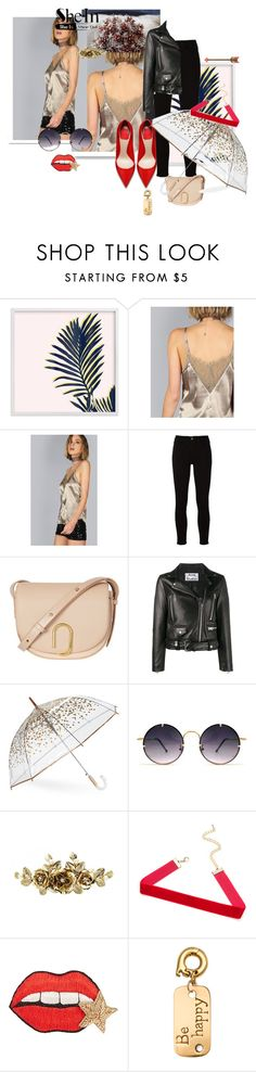 """""""Coffee cami top"""" by annaruto ❤ liked on Polyvore featuring White Label, Frame, 3.1 Phillip Lim, Acne Studios, ShedRain, Spitfire, Happy Embellishments and nikki lissoni"""