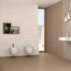 The light colour This range of Serpal tiles can be used alone or in a combination of colours to add a personal touch to your home. Also available to complement this range is the Serpal Beige Tile and Mr. Bathroom Photos, Modern Bathroom, Small Bathroom, Bathroom Ideas, Photo Deco, Shower Enclosure, Amazing Bathrooms, Better Bathrooms, Bathroom Furniture
