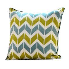 Fashion Geometric Pattern Linen Pillow Cushion Cover