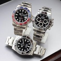 Rolex GMT 116719BLRO, Daytona 116500, Submariner 114060