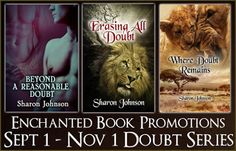 Tome Tender: Sharon Johnson's Doubt Series Tour & Giveaway