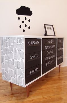 One day, I will paint my clothes chest like this. I think it is the only way forward. (Memory fail)