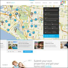 30+ Excellent Real Estate Website Templates - 101webdesigns.com