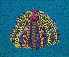 a pumpkin. colorful one.