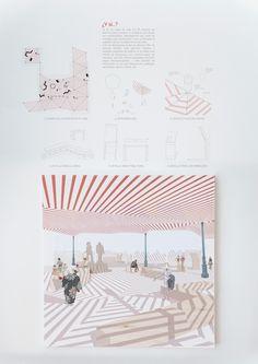presentation ¿Y si…?, AFAB – Beta Architecture Was ist, wenn . Collage Architecture, Architecture Presentation Board, Architecture Design, Presentation Layout, Architecture Board, Architecture Graphics, Architecture Drawings, Concept Architecture, Futuristic Architecture