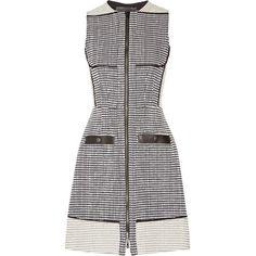 Proenza Schouler Basketweave tweed dress ($2,070) via Polyvore
