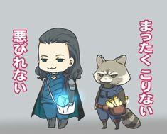 Loki & Rocket Raccoon