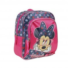 Mochila Infantil Minnie Think in Love