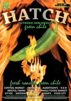 New Mexico Hatch Green Chile - the one, the only.