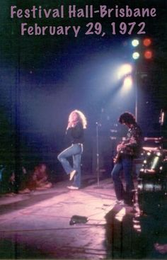 Jimmy Page and Robert Plant: Immigrant Song-Festival Hall-Brisbane Australia 1972 Robert Plant, Great Bands, Cool Bands, Detroit, Led Zeppelin Live, Immigrant Song, Page And Plant, Festival Hall, John Bonham