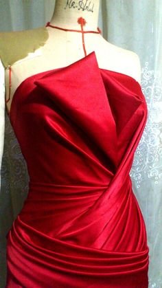 #drape obviously too evening wear for us, but still room for inspiration from this :)
