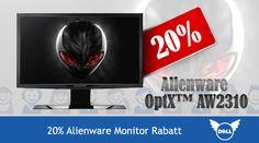 20% Alienware Monitor Rabatt