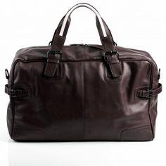 BACCINI Reisetasche ROBERTO - Leder Weekender braun Taschen Herren
