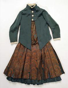 1885 American Silk dress