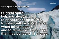 Native American Cherokee Indian  Native American, Blessings and Prayers Images