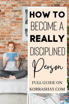 Discipline Quotes, Self Discipline, Motivate Yourself, Improve Yourself, Self Development, Personal Development, Self Care Activities, Mental Health Matters, Self Motivation