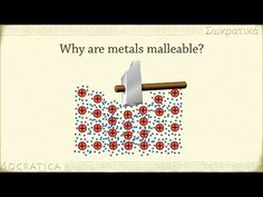 Chemistry: What is a metal? (Metallic Bonds) Metallic bonds are one of the 3 main types of intermolecular forces, along with ionic bonds and covalent bonds. Chemistry Classroom, High School Chemistry, Chemistry Lessons, Teaching Chemistry, Science Chemistry, Middle School Science, Physical Science, Science Lessons, Metal Chemistry