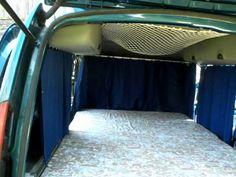 Renault Kangoo Camper - vid.3/4 - (Camper van Campercar) - YouTube
