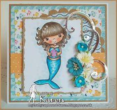Mermaid -Little Miss Muffet